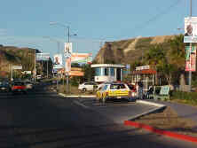 main bus stop leaving Las Playas de Tijuana